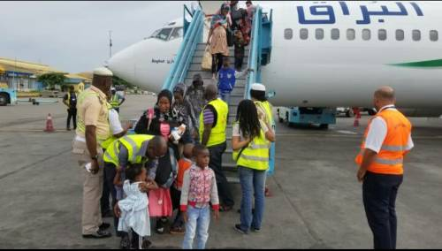 Another 161 Nigerians Repatriated From Libya On Thursday - Surge Zirc