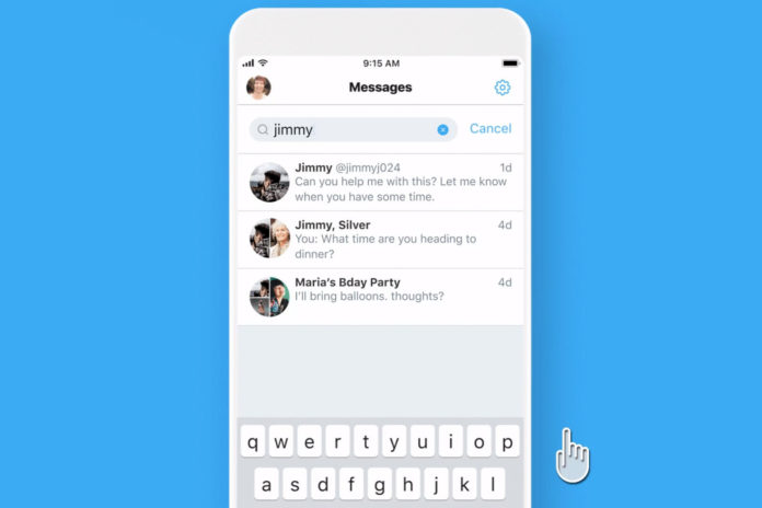 Twitter Rolls Out DM Search Today For All iOS Users Only - Surge Zirc