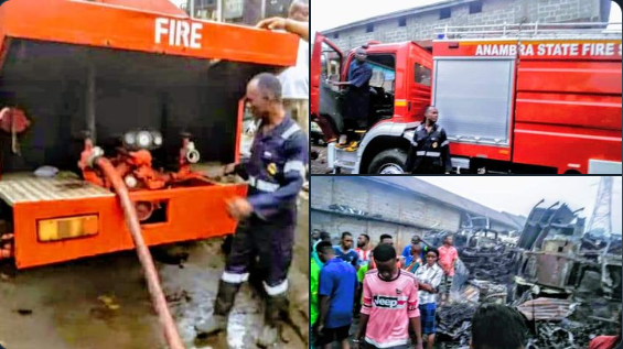 Governor Willie Obiano Speaks After Anambra Market Fire Outbreak - SurgeZirc NG