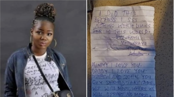 NYSC Member Commits Suicide In Kogi State, Drops A Note Behind - SurgeZirc NG