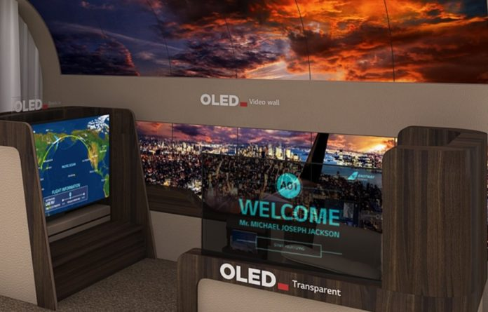 LG's New Rollable OLED TV Will Roll Down From The Ceiling (CES 2020) - SurgeZirc NG