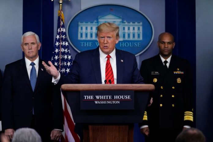 Trump Deny Being Accountable For Medical Supply Crisis - SurgeZirc US