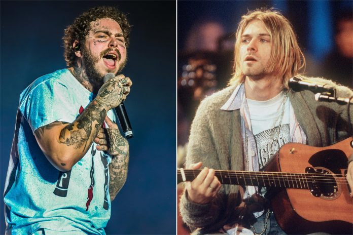 Post Malone is paying tribute to Kurt Cobain and his iconic band with a special concert from home, featuring Nirvana songs and it's all for coronavirus relief.