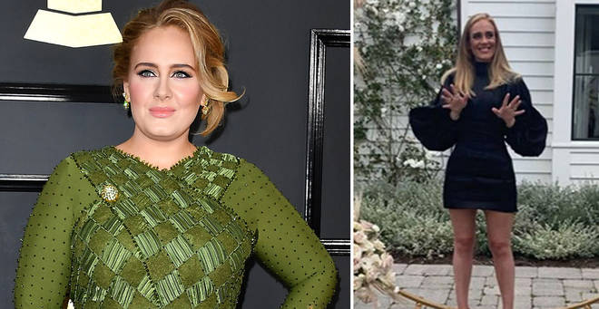 Adele is back with a different look