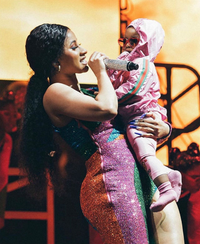 Cardi B's daughter might drop a few bars