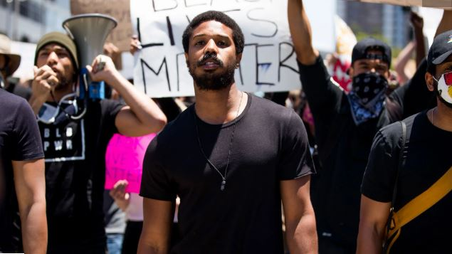 Michael B. Jordan Calls On Hollywood To Hire More Black People In Protest Speech
