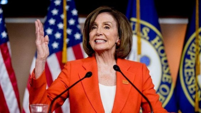 House Speaker Nancy Pelosi said anyone who breaks the new rule by not wearing a face mask could be removed from the house.