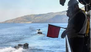 One US marine has died and eight service members are missing after an amphibious vehicle accident off the coast of southern California.
