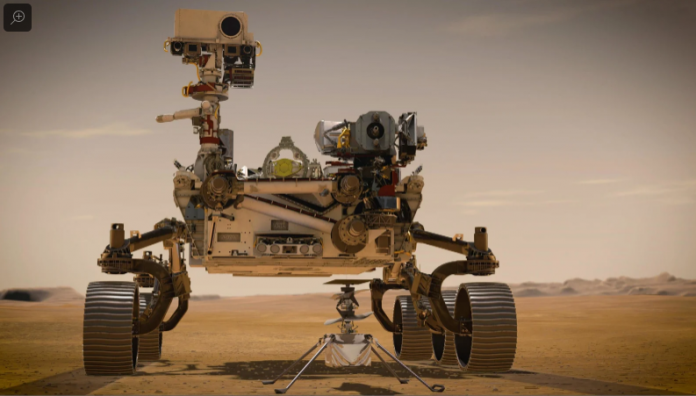 Amazing!! How NASA's New Helicopter Will Make History On Mars - SurgeZirc US