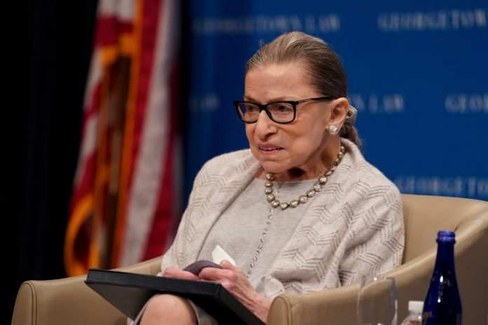 Supreme Court Justice Ruth Bader Ginsburg Hospitalized For Infection - SurgeZirc US