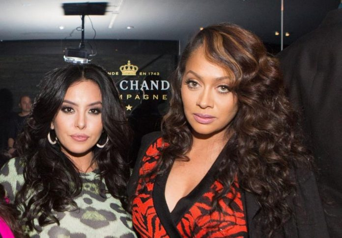 It was all fun and laughter as Vanessa Bryant and La La Anthony had a girls' night, the blast could all be seen in their TikTok video from July 29.