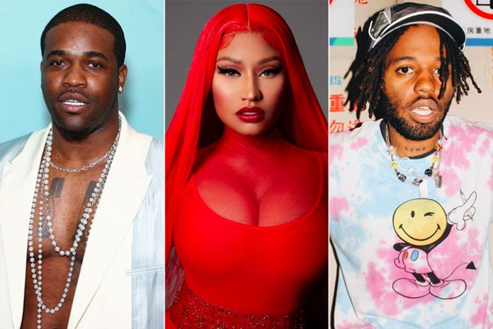 Nicki Minaj has teamed up with A$AP Ferg and MadeInTYO to produce, 'Move Ya Hips', a banger of a track that will force you to do just that.