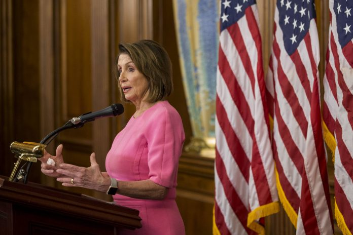 Nancy Pelosi on Wednesday said the Republican Party appear to have