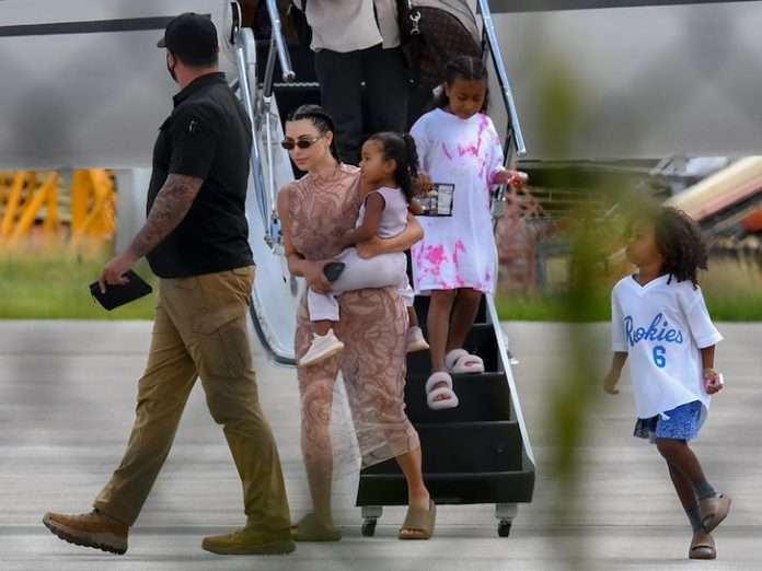 Kim And Kanye Touch Down In Miami... Next Will Be Colorado Glamping - SurgeZirc US
