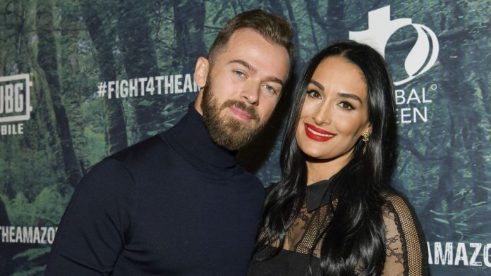 Nikki Bella and Fiancé Artem Chigvintsev welcomed their bouncing baby boy on Friday, a day before her twin sister welcomed her second child.