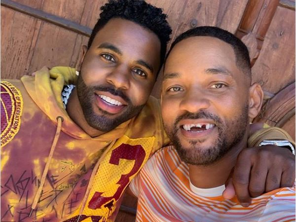 Contained in this picture Jason Derulo And Will Smith