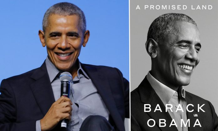 Obama New Book A Promised Land Sold Record 890,000 Copies In Its First 24 Hrs. - SurgeZirc US