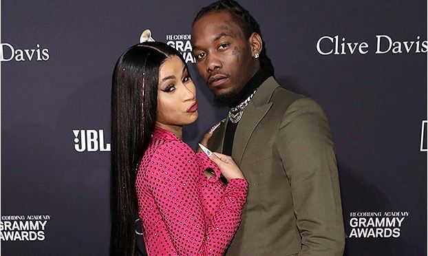 Cardi B Kisses Offset At Her Wild 28th Birthday Party In Las Vegas-SurgeZirc USA