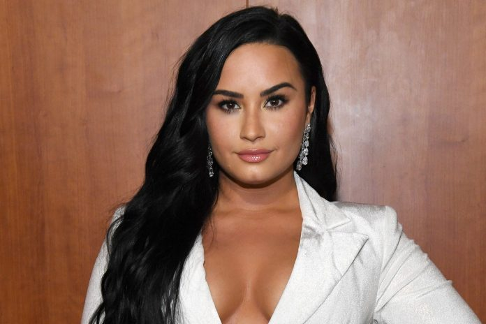 Demi Lovato is slamming resurfaced social media posts about Selena Gomez attributed to her fiancé, Max Ehrich, as fake and doctored.