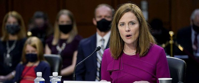 Key Highlight Of Amy Coney Barrett's First Day Of Confirmation Hearings - SurgeZirc US