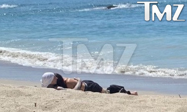 Kourtney Kardashian & Travis Barker Beach Romance Went Slightly Beyond Line
