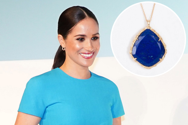 Meghan Markle Crystal Necklace Has A Hidden & Deep Meaning - SurgeZirc US