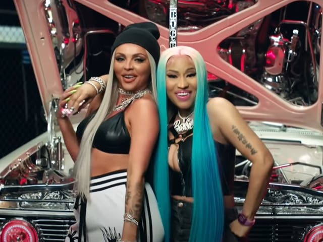 Nicki Minaj Weighs In On Jesy Nelson's Video Appearance Controversy