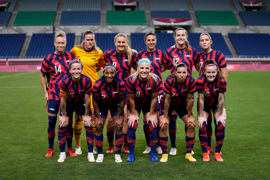 The US Women's team is favored to win a gold medal in Tokyo and ranked No. 1 in the world - SurgeZirc US