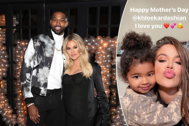 Tristan Honored Khloé On Mother's Day Amid Cheating Claim, She Snubs - SurgeZirc US