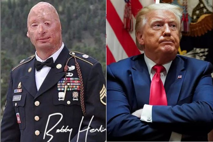 Wounded Vet Army Slams Democrats For Using Him As A Prop To Turn Veterans Against Trump