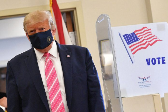 Trump Casts His Early Ballot In Florida, Urges In-Person Voting - SurgeZirc US