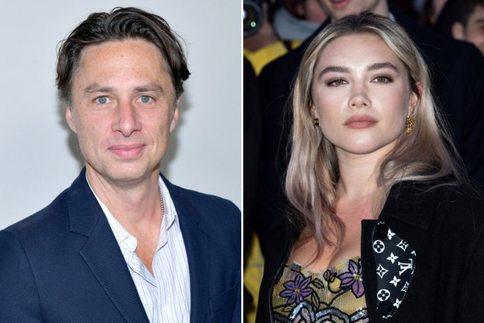 Zach Braff Gushes Over Girlfriend Florence Pugh For Her 25th Birthday - SurgeZirc US