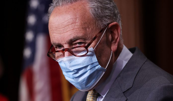 Chuck Schumer Slammed By A Heckler During His Briefing Outside The Capitol: 'Stop Lying!'